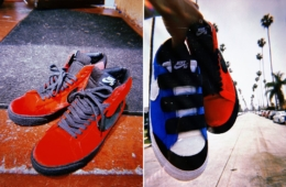 Kevin Bradley x Nike SB Blazer «Kevin & Hell» детали релиза