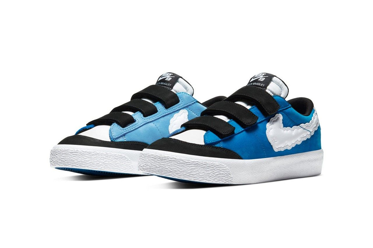 Kevin Bradley x Nike SB Blazer Low «Kevin & Hell»
