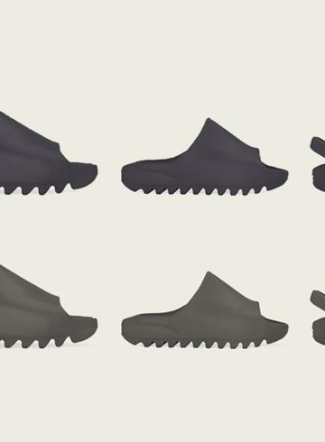 adidas Yeezy Slide «Core» и «Soot» детали релиза