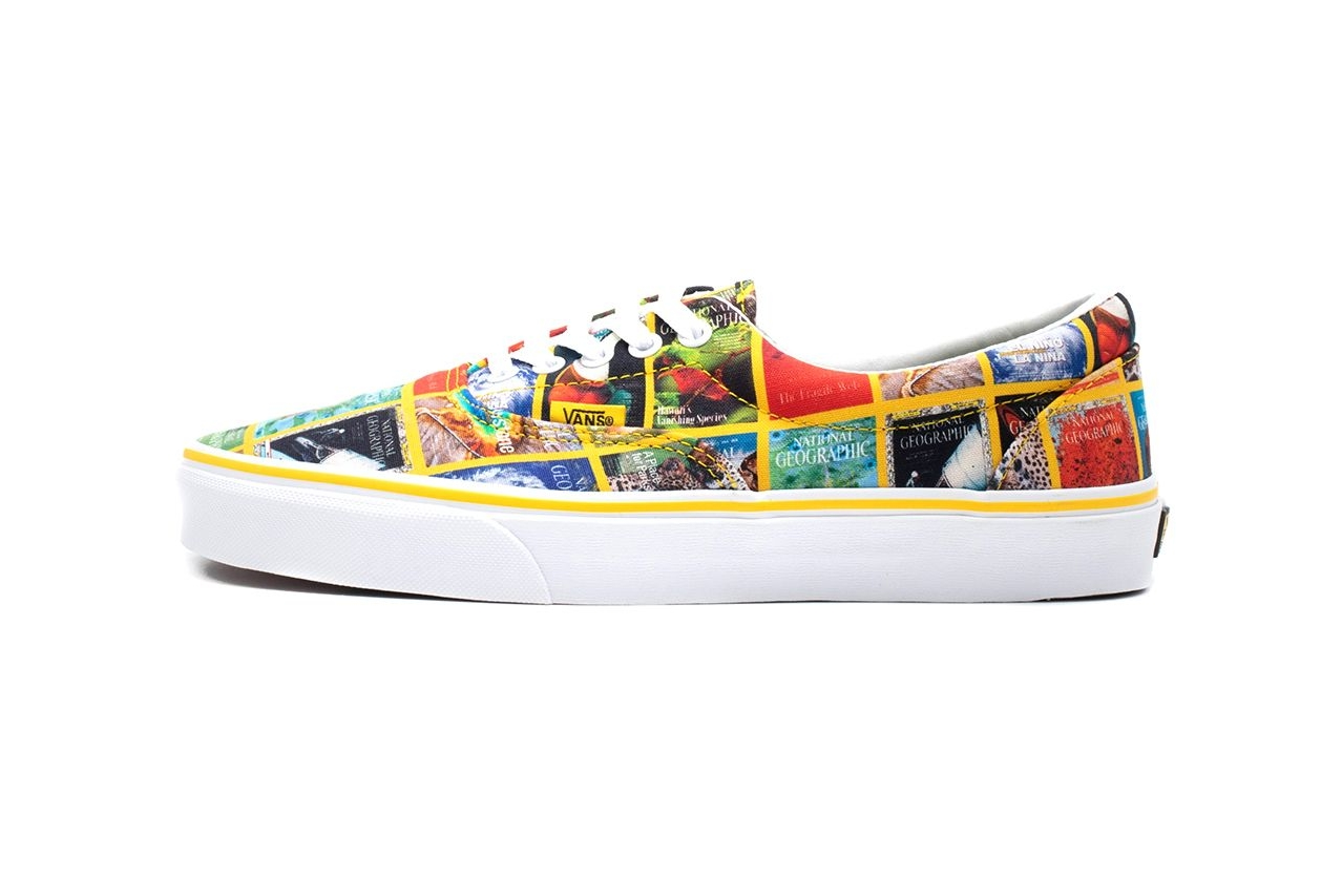 National Geographic x Vans Authentic