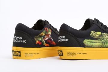 National Geographic x Vans детали коллекции
