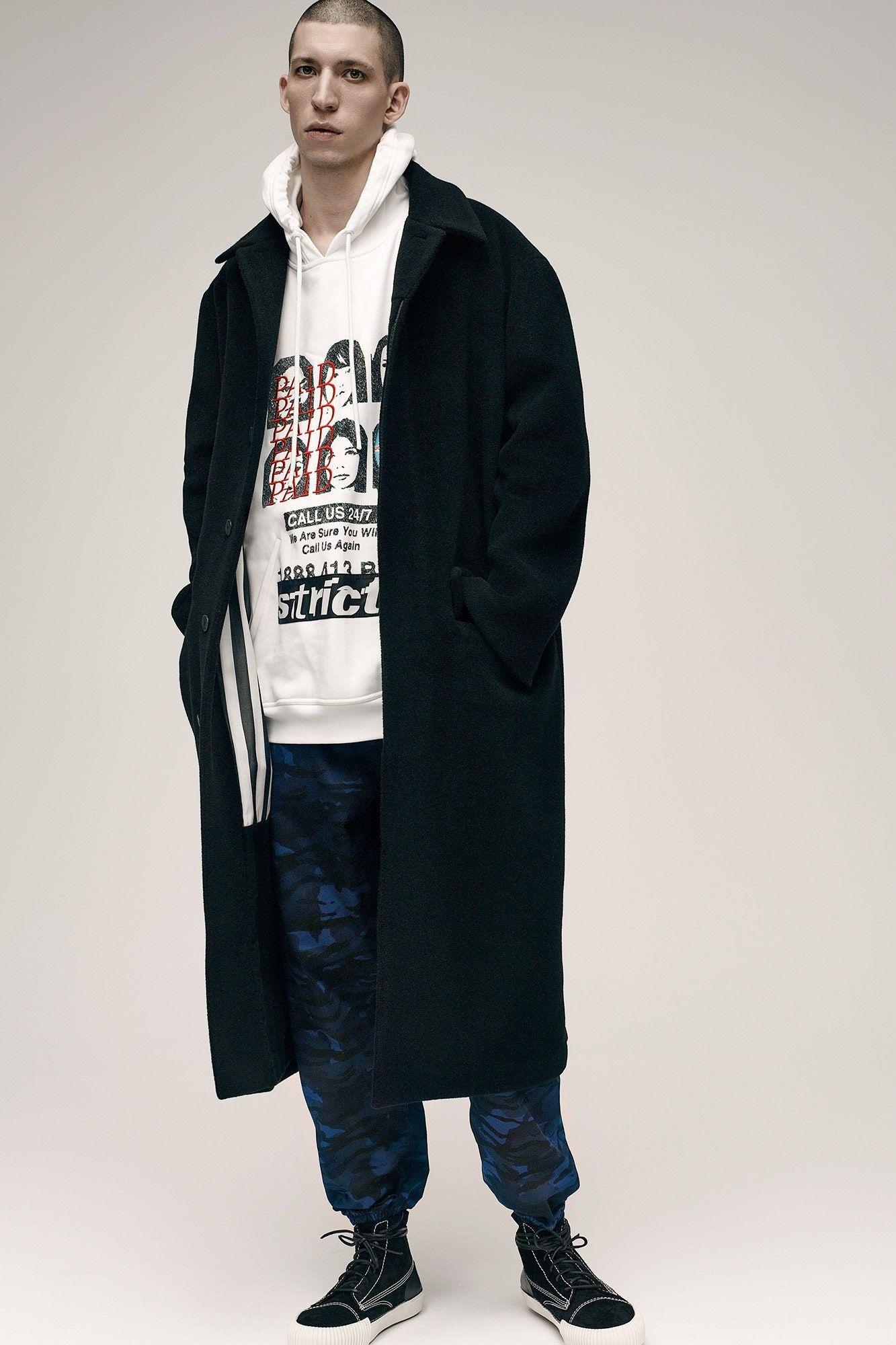 Alexander Wang Fall/Winter 2016 Menswear худи