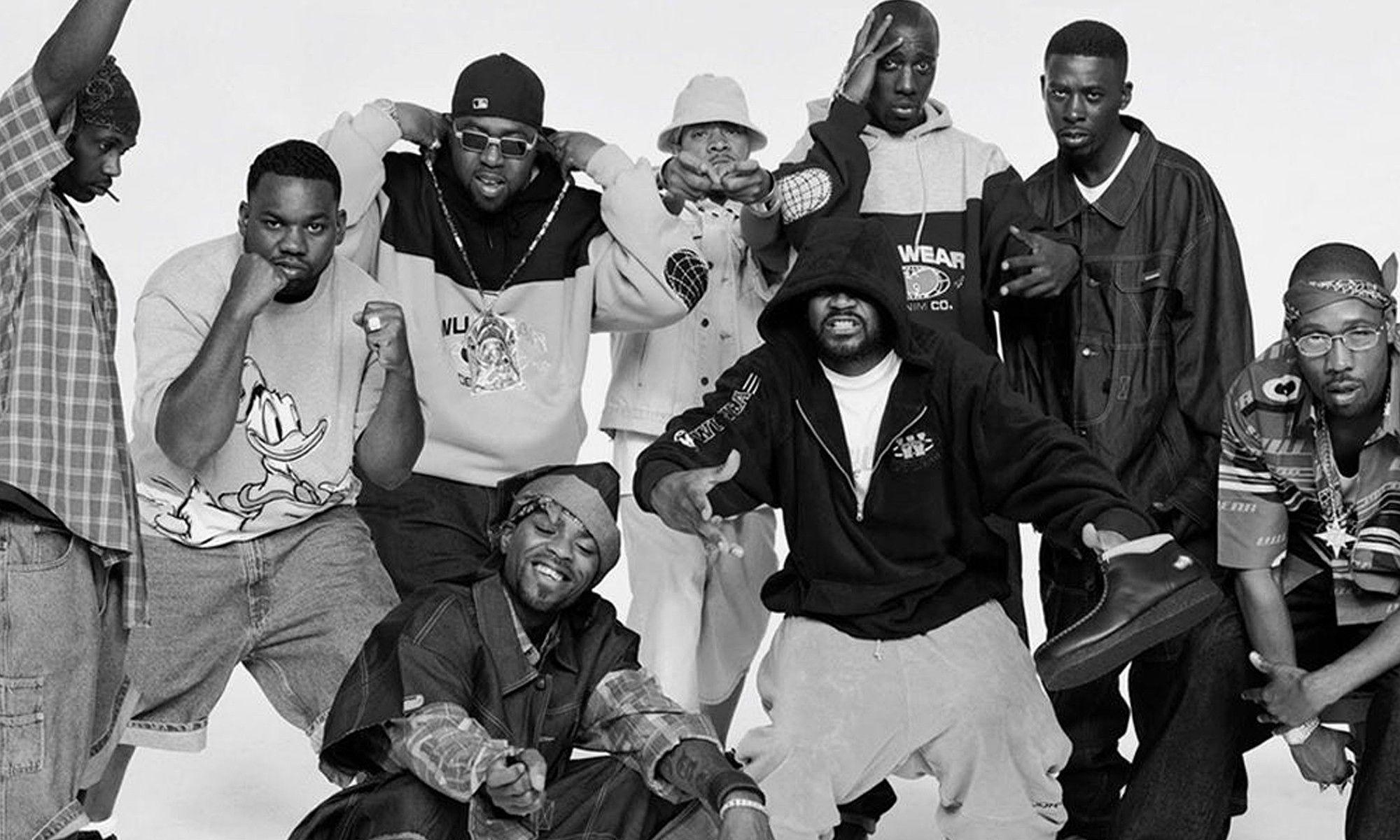 Музыкальная группа Wu-Tang Clan, 1990-е годы. История худи в статье по ссылке