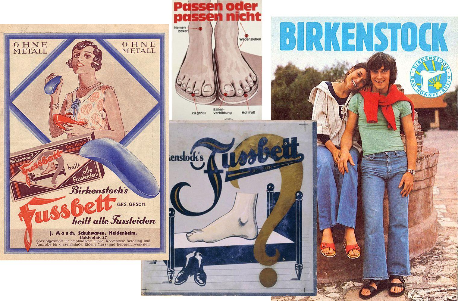 Старая реклама Birkenstock