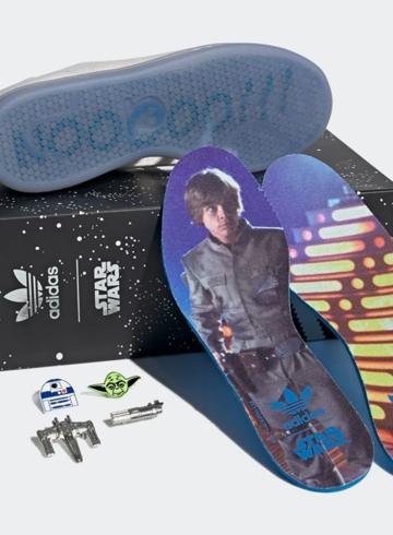 Star Wars x adidas Stan Smith «Luke Skywalker» детали релиза