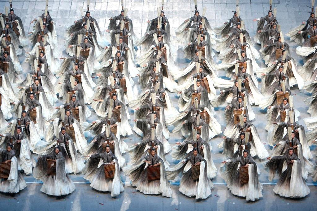 Эйко Исиока создала костюмы для церемонии открытия Олимпийских игр 2008 года в Пекине