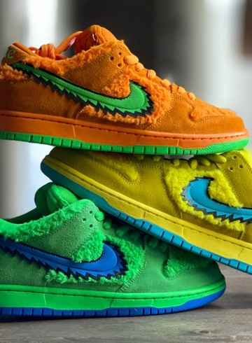 Nike SB Dunk Low «Grateful Dead» дата релиза