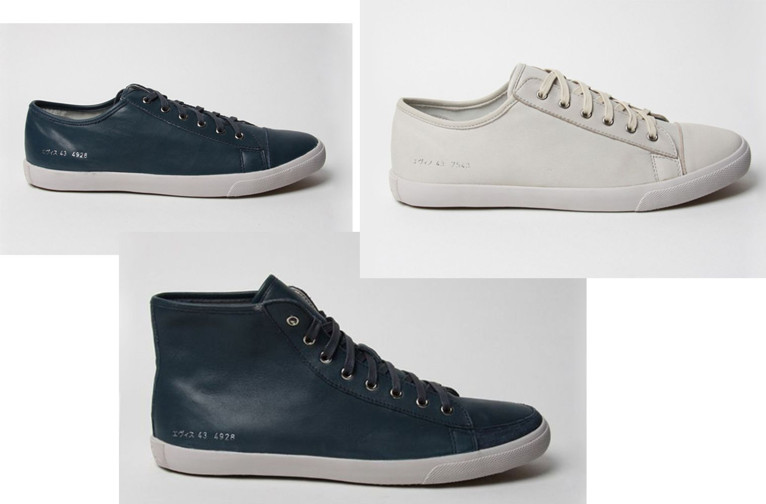 EVISU x Common Projects Fall/Winter 2010