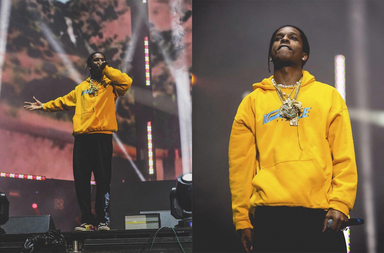 A$AP Rocky в Chrome Hearts