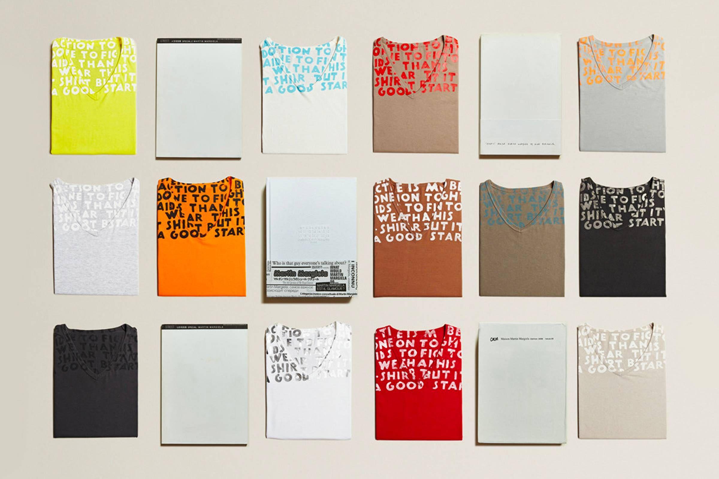Архивная коллекция футболок Martin Margiela