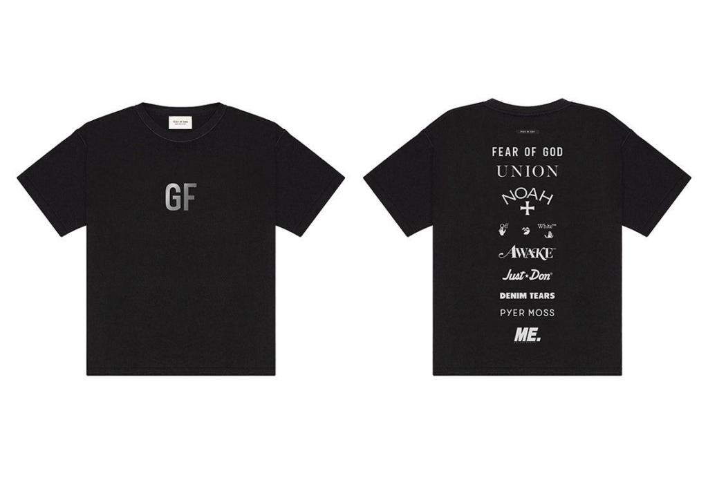 Коллаборационная футболка
