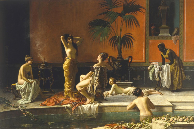 Купальники в истории: Баня в Помпеях