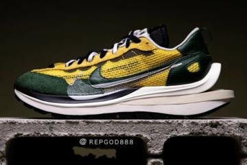 sacai x Nike Vapor Waffle «Tour Yellow» - первый взгляд