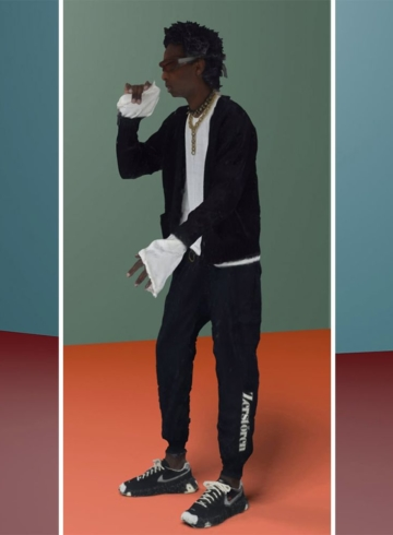 Undercover x Nike ISPA OverReact первый взгляд