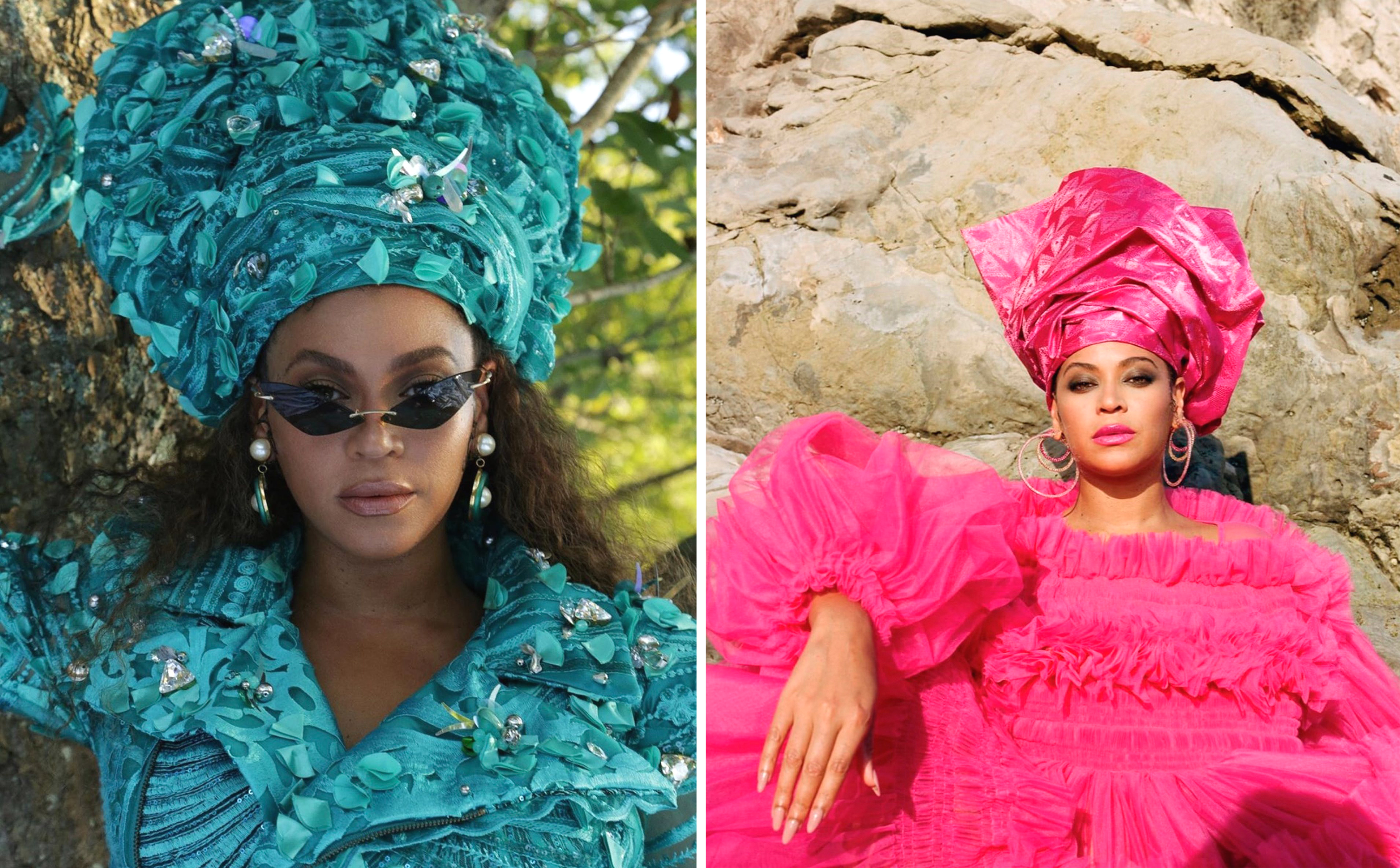 Beyonce в «Black Is King» в геле