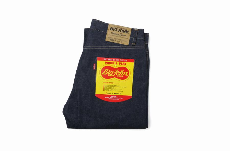 Big John M1002 - первая модель джинсов бренда