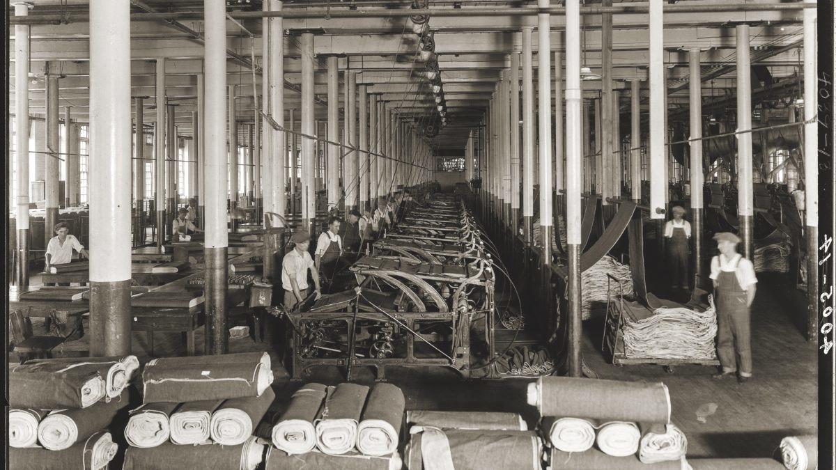 Cone Mills - самая известная фабрика по производству селвидж денима