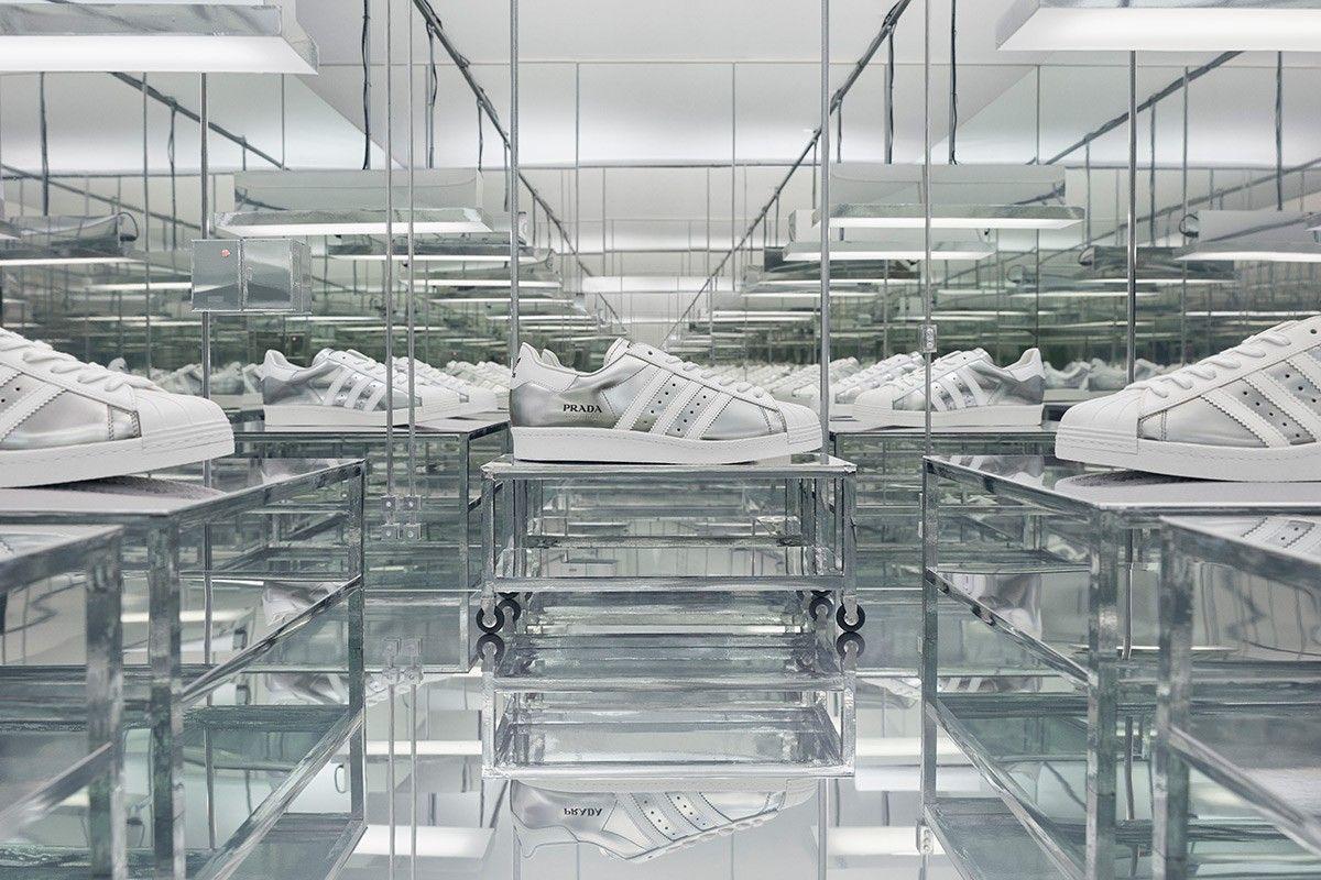 Prada x adidas Superstar - дата релиза