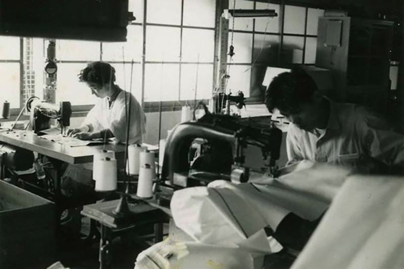 Фабрика Canton Mills, 1961 год