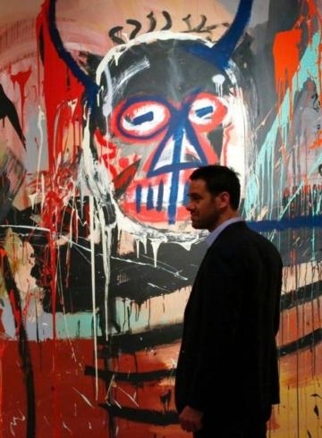 Картина, которую Жан-Мишель Баския написал в 1982 году, продана за $10,8 миллионов в приложении