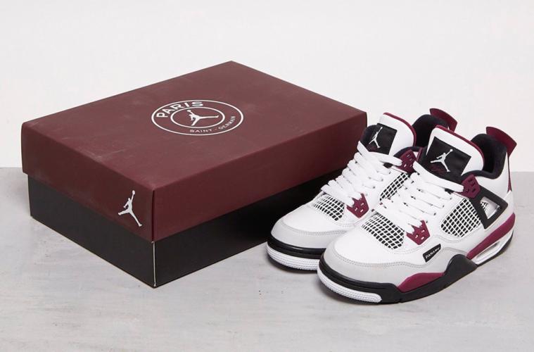 Paris Saint-Germain x Air Jordan 4 - первый взгляд на совместные кроссовки