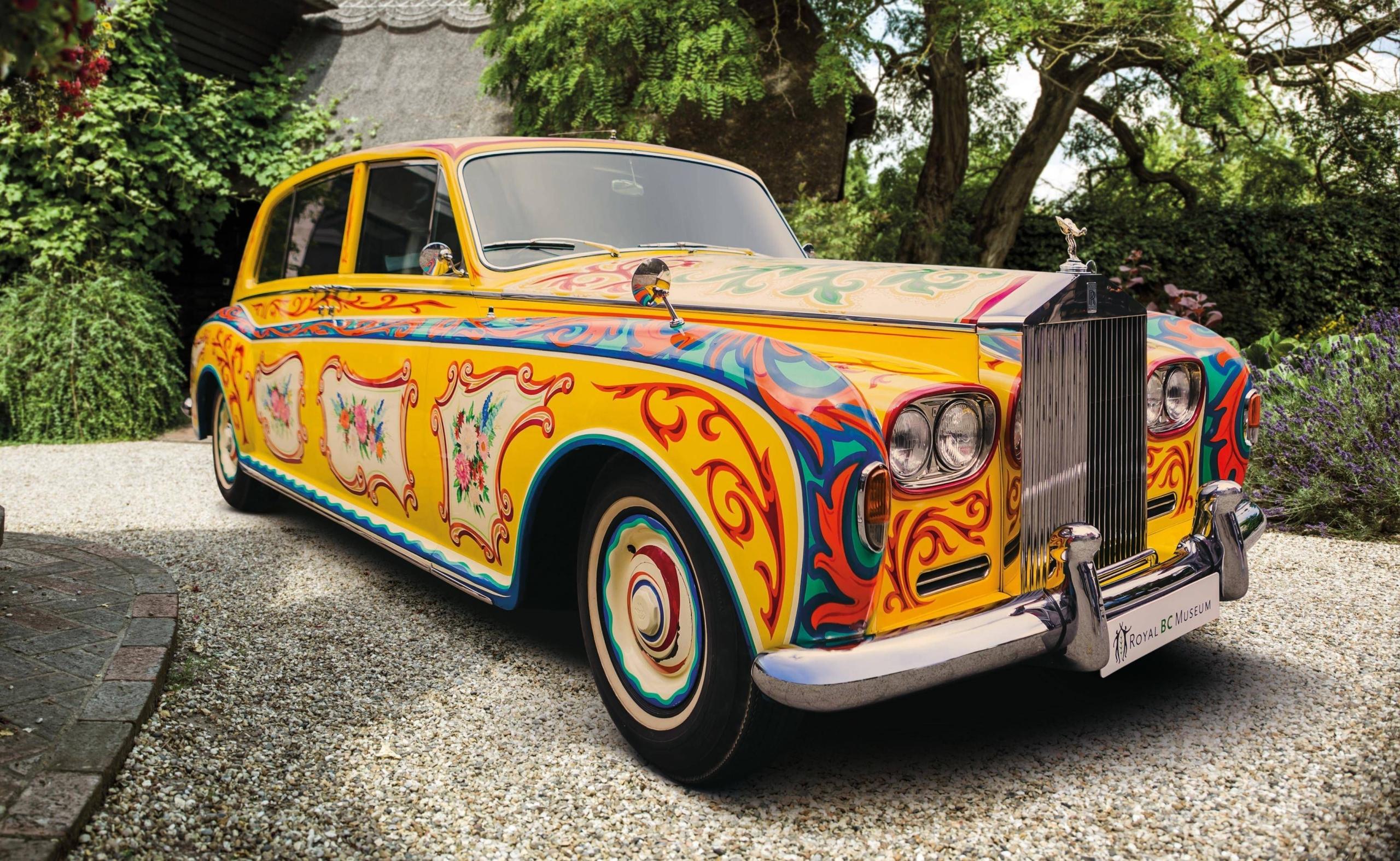 Желтый Rolls-Royce Джона Леннона