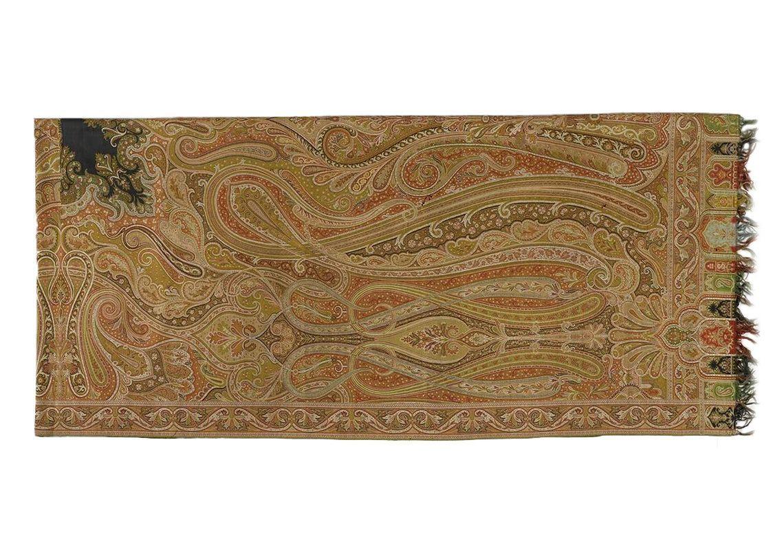 Кашемировый платок, вторая половина 19 века