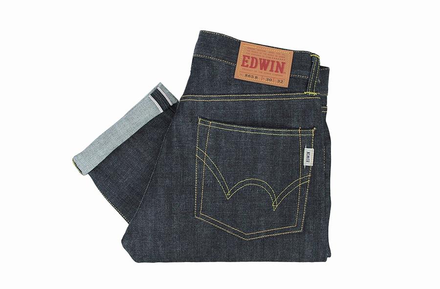 Селвидж деним джинсы Edwin