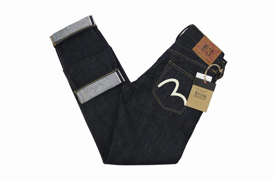 Селвидж деним джинсы EVISU