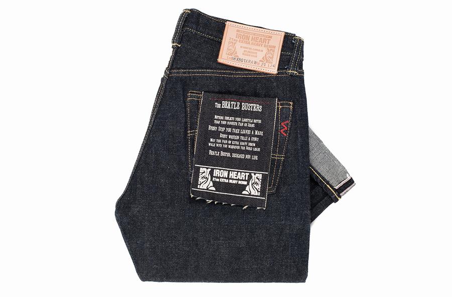 Селвидж деним джинсы Iron Heart