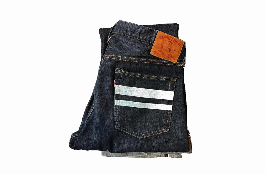 Селвидж деним джинсы Momotaro