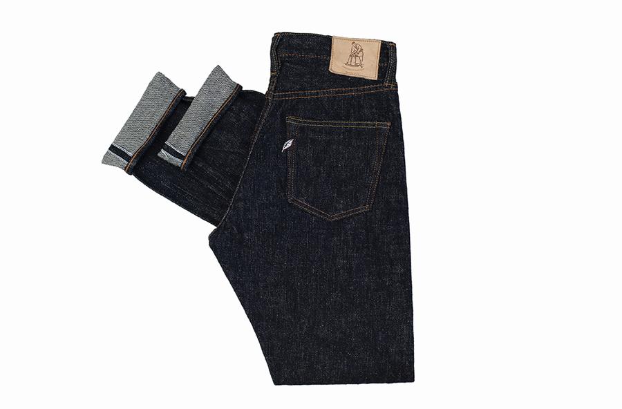 Селвидж деним джинсы Pure Blue Japan