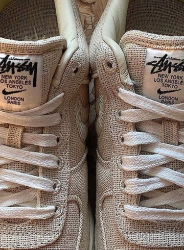 Stussy x Nike Air Force 1 «Fossil Stone» - детали релиза