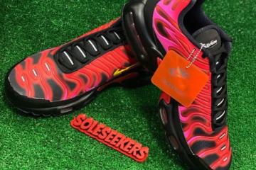 Supreme x Nike Air Max Plus TN - первый взгляд на коллаборацию