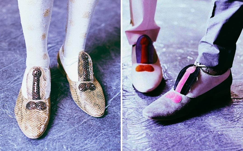Туфли из коллекции Walter Van Beirendonck SS14