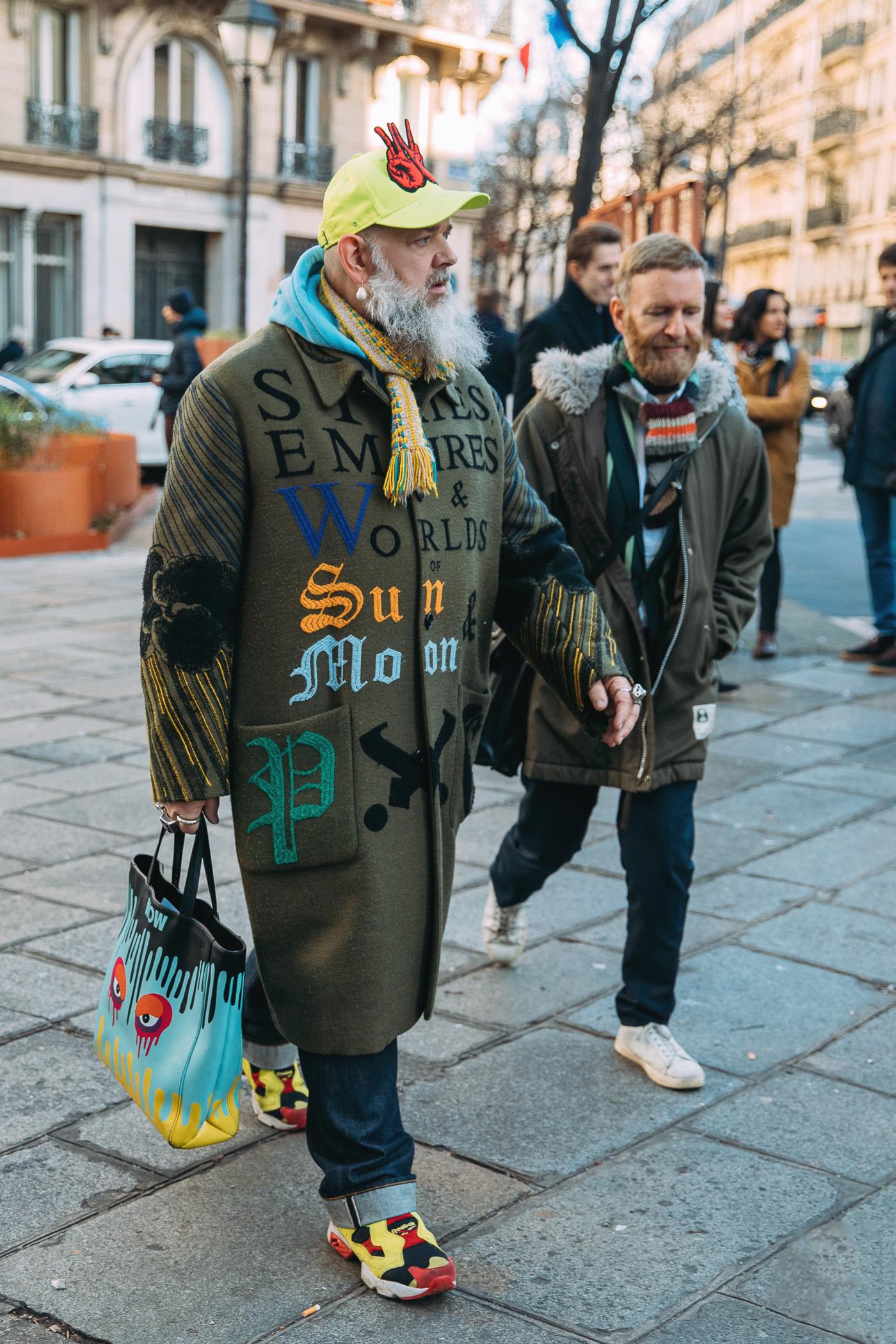 Вальтер Ван Бейрендонк и Дирк Ван Сэн на Неделе моды в Париже