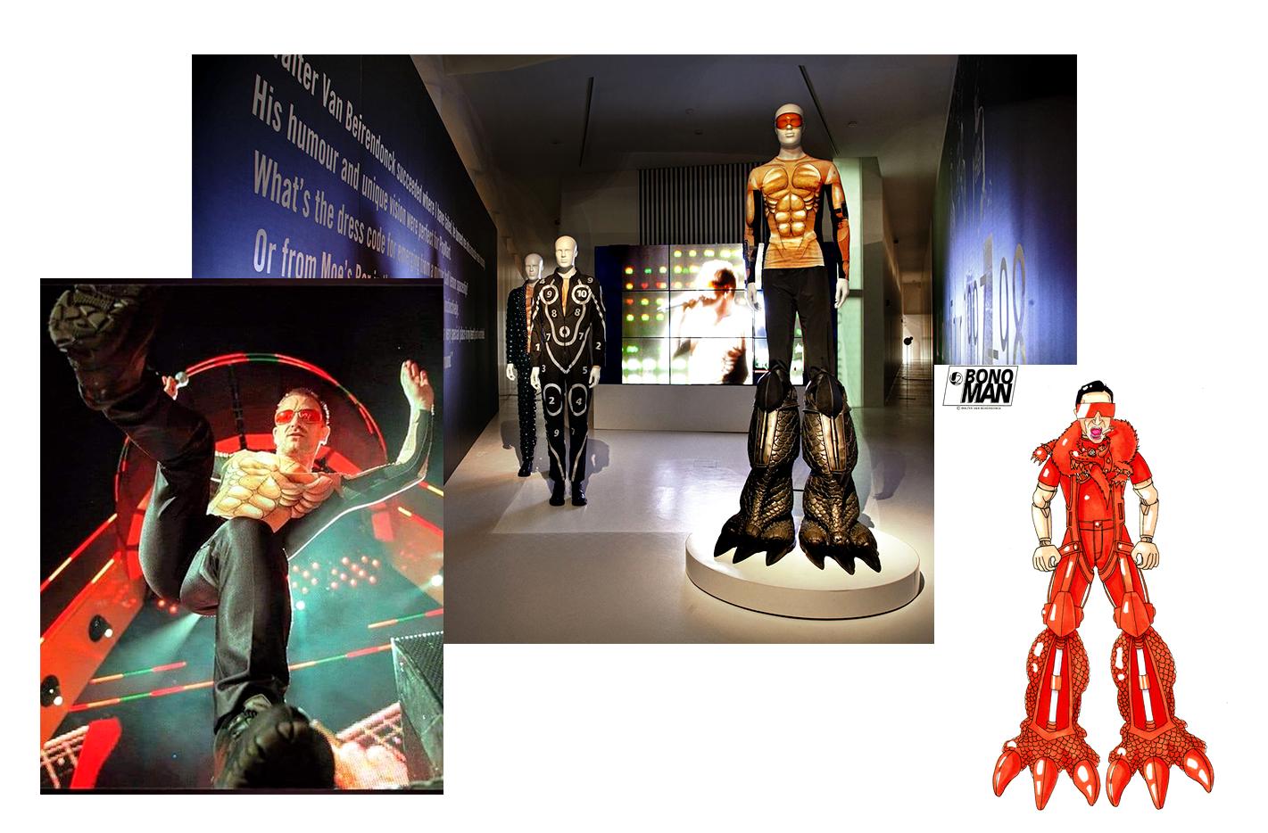 Вальтер Ван Бейрендонк создал костюмы для группы U2