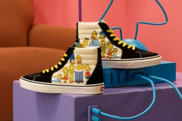 The Simpsons x Vans 2020 - дата релиза