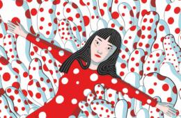 Яёи Кусама стала героиней графического романа «Kusama: The Graphic Novel»