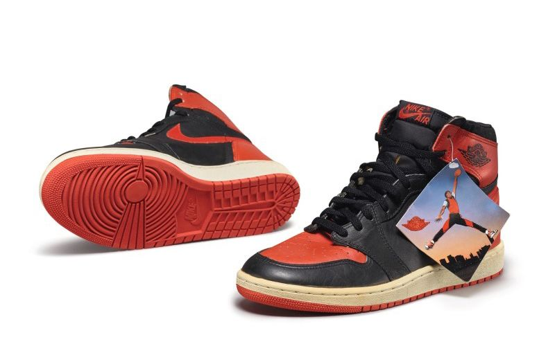 Peter Moore x Nike Air Jordan 1 High OG «Bred»