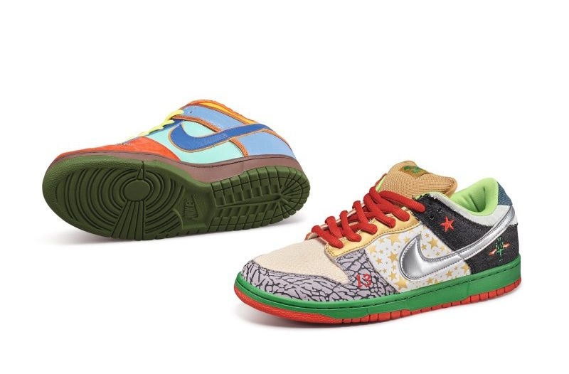 James Arizumi x Nike SB Dunk Low Pro «What the Dunk» на Sotheby's