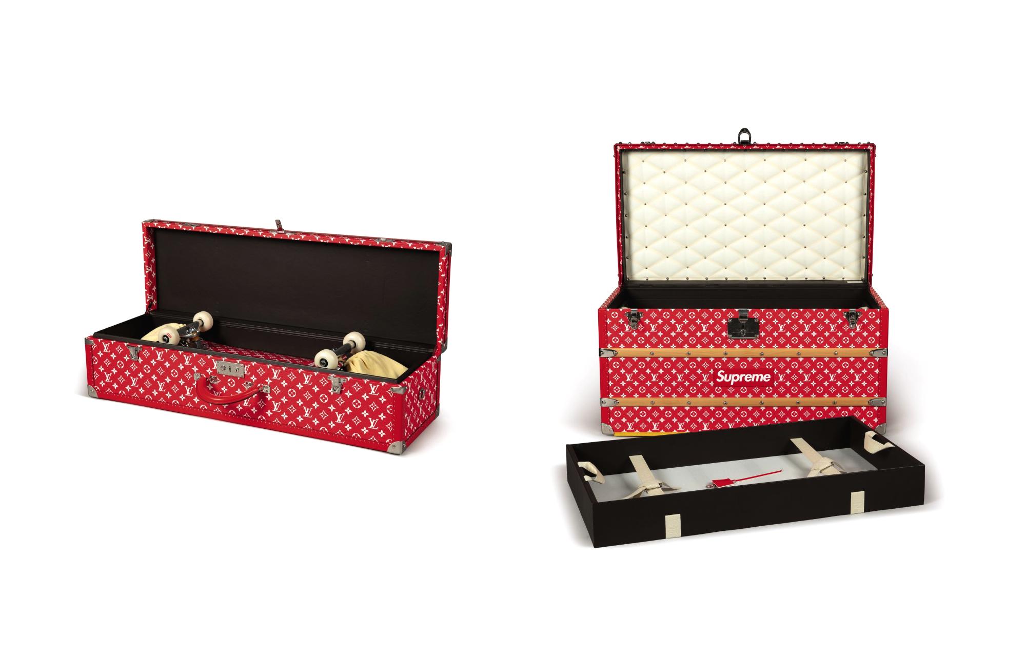 Чемоданы Louis Vuitton x Supreme - хип-хоп-аукцион Sotheby's
