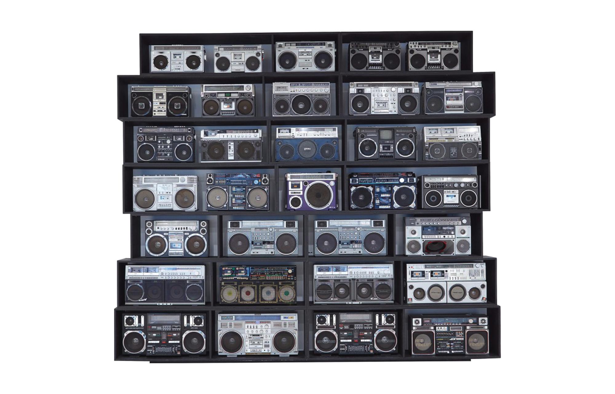 DJ Ross One «The Wall of Boom» - хип-хоп-аукцион Sotheby's