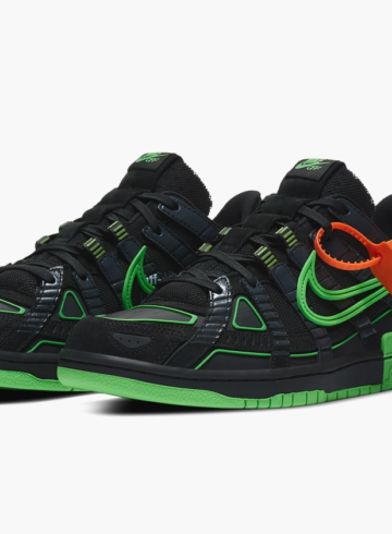 Off-White x Nike Air Rubber Dunk «Green Strike» - подробности релиза