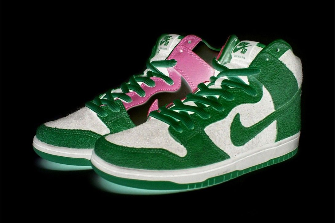 Nike SB Dunk High «Invert Celtics» - детали релиза