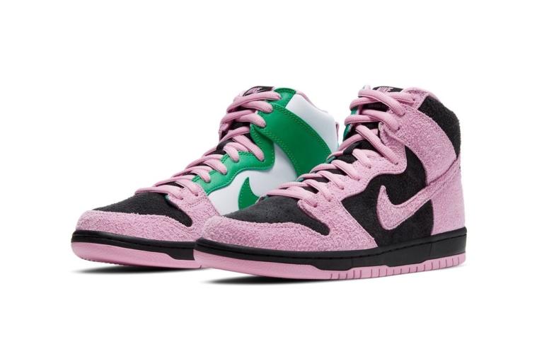 Где купить Nike SB Dunk High «Invert Celtics»