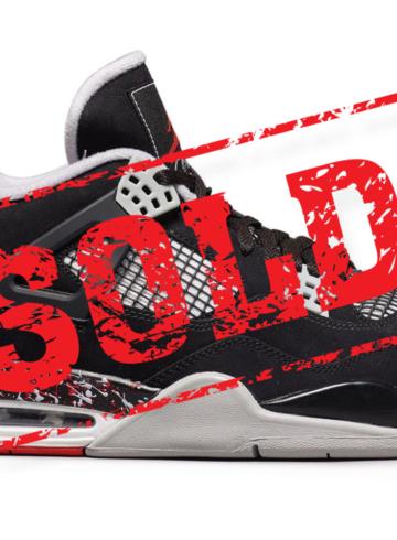 OVO x Air Jordan 4 «Splatter» проданы на аукционе
