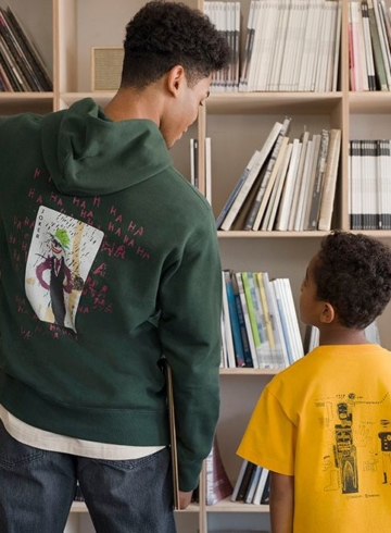 Jean-Michel Basquiat x Warner Bros. x Uniqlo - детали релиза