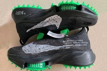Off-White x Nike Air Zoom Tempo Next% - детали релиза