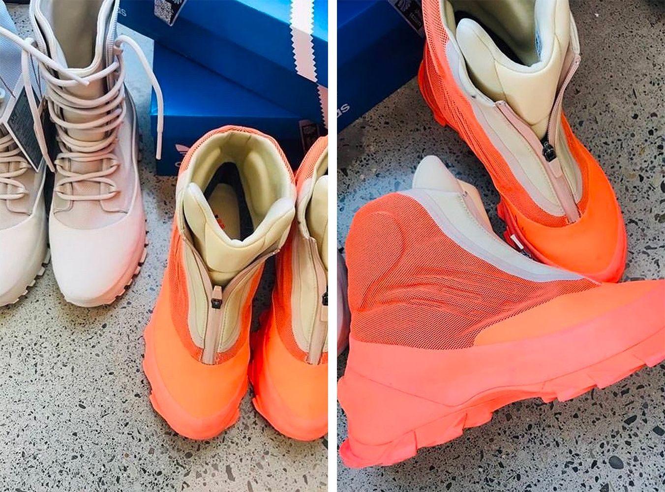 Сэмплы adidas Yeezy 1020 и 1050 V3